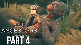 ANCESTORS THE HUMANKIND ODYSSEY Gameplay Walkthrough Part 4 - BIRTH & HUNTING