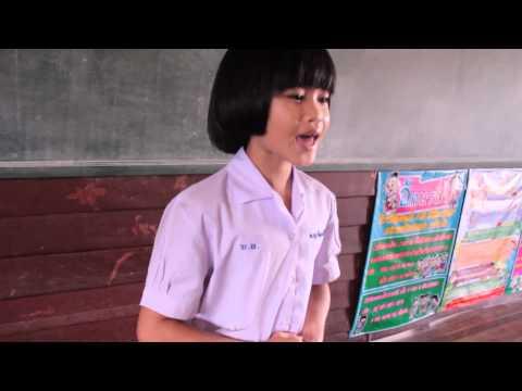 เด็กตัวกะเปิ๊ยกพูดภาษาอังกฤษ