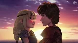 HICCSTRID KISS SEASON 6 Hi¢cup Says I Love You To Astrid!