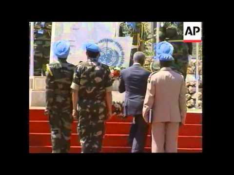 WRAP UN Secretary General leaves Beirut for south, tours Naqoura, leaves