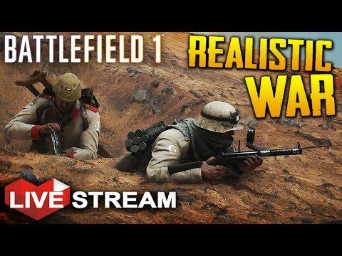 Battlefield 1 Gameplay | Realistic War Operations | Livestream