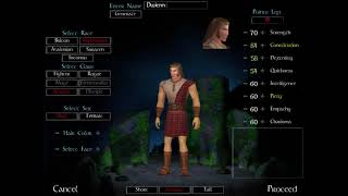 DAoC Old Character Creation