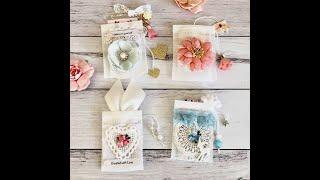 Altered Tea Bag Pouch | DIY Happymail Idea | Gift | Packaging Idea