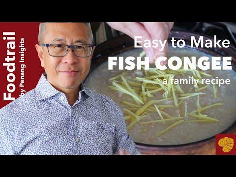 How To Make Tasty And Healthy Chinese Porridge At Home | Fish Porridge | Fish Congee