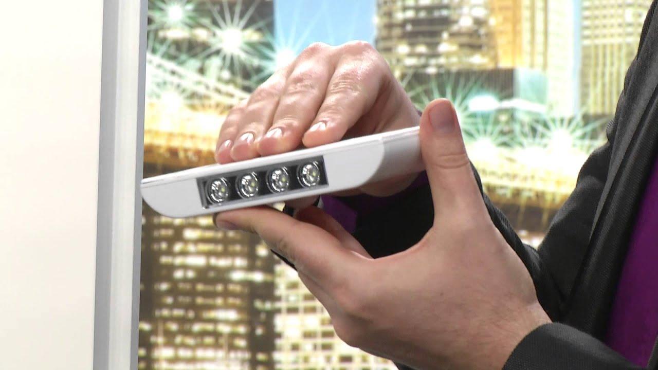 Lunartec Solar Schlusselloch Leuchte Stick Push Youtube