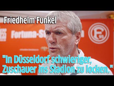 Fortuna Düsseldorf: Trainer Friedhelm Funkel - Weniger Zuschauer im Stadion