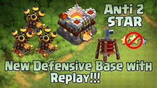 TOWN HALL 11(TH11) 💥 DEFENSE BASE 💥 LEGEND LEAGUE 💥 TROPHY BASE 💥 REPLAYS 💥ANTI 2 STAR