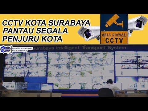 24 JAM PENUH, CCTV PANTAU SELURUH PENJURU KOTA SURABAYA