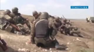 ШОК! прямое попадание армянского снайпера в голову азерского цыгана  2016
