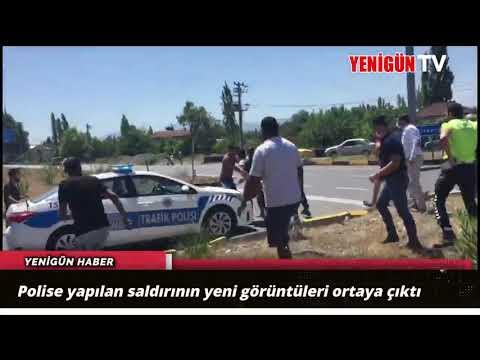Polise yapılan saldırının yeni görüntüleri ortaya çıktı
