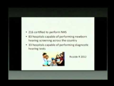 Newborn Hearing Screening in the Philippines by Dr  Maria Rina Reyes Quintos (Full)