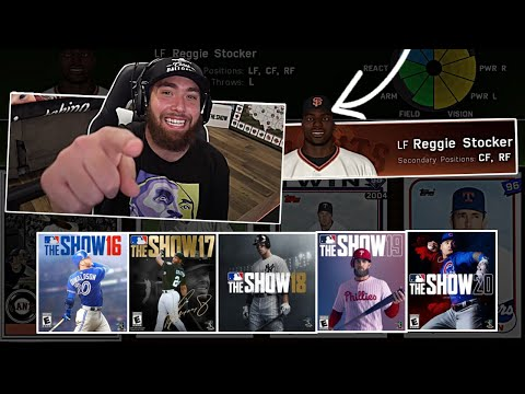 Battle Royale Draft EVERY MLB The Show Last Five Years!
