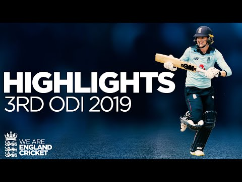 Jones & Taylor Star In Series Whitewash | England Women v Windies Women 3rd ODI 2019 - Highlights