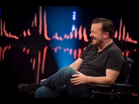 Ricky Gervais interview:  Twitter is like reading toilet walls | SVT/NRK/Skavlan
