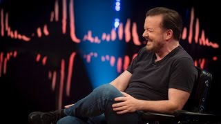 "Interview with Ricky Gervais ""Twitter is like reading every toilet wall in the world"""