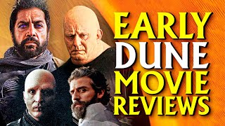 Early DUNE Movie Reviews Reveal New Info! Test Screening Interviews