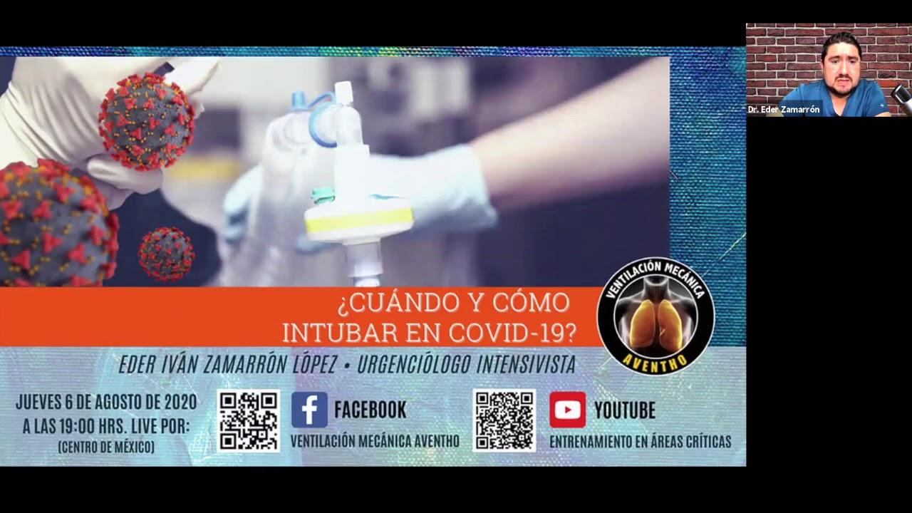 ¿Cómo y cuándo intubar en COVID-19? By AVENTHO