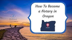 How to Become a Notary in Oregon - NSA Blueprint