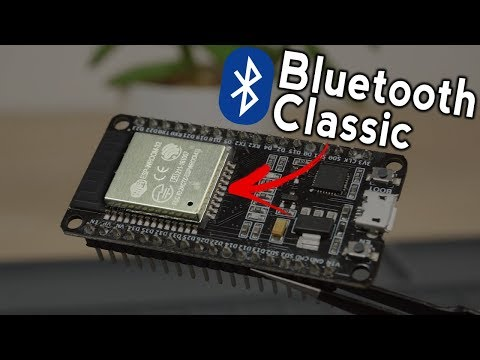 ESP32 Bluetooth Classic With Arduino IDE - Getting Started