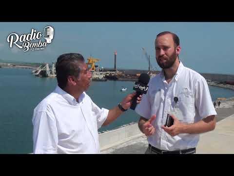 Conoce como va la construcción del nuevo Puerto de Veracruz. Radio Bemba Veracruz.