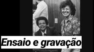 Elis Regina e Cauby Peixoto - Ensaio e Gravação de Bolero de Satã (1979)