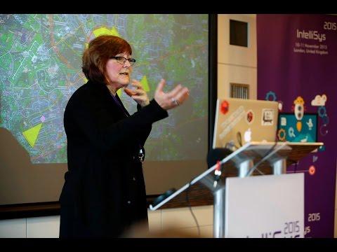 Keynote - Dr Jane Macfarlane at IntelliSys 2015 - Location, Internet of Things and Data Analytics