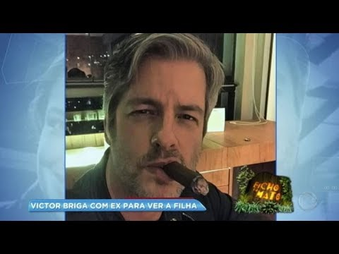Hora da Venenosa: Victor Chaves briga com ex-mulher para ver a filha