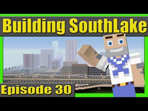 Building the Stadium! Building SouthLake City Episode 30