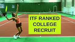 ITF ranked college tennis recruit (Fall 2020)