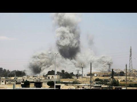 US-led coalition downs Syrian warplane over Raqqa
