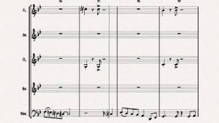 Libertango - Astor Piazolla - Tango Nuevo - Wind Quintet Resimi