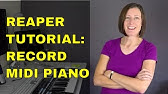 Free Download Play Piano - Reaper 1 - YouTube