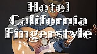 HOTEL CALIFORNIA - EAGLES (FINGERSTYLE GUITAR COVER) FREE DOWNLOAD