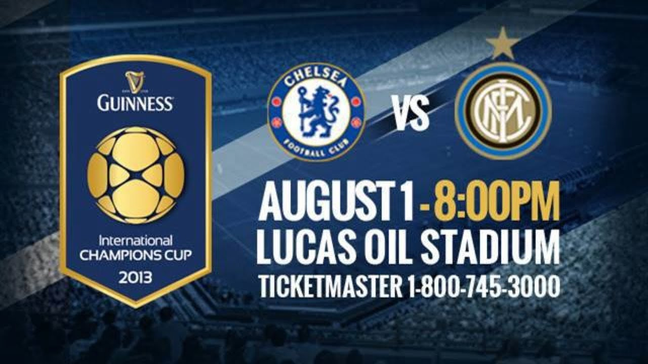 Image result for Chelsea vs Inter Milan:International Champions Cup