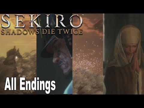 Sekiro: Shadows Die Twice - All Endings (Good Ending, Alt Good Ending, Bad Ending, True Ending)