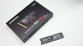 Samsung SSD 950 Pro M.2 - Kurze Vorschau