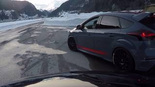 Winterfahrtraining Ambri 11.02.2018  (2) Audi/ Focus RS