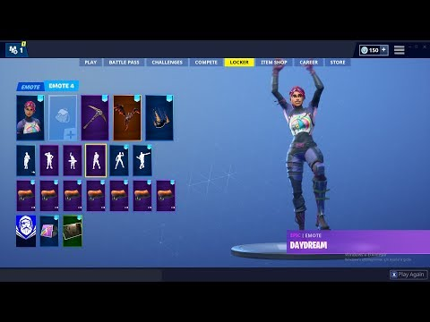 BRITE BOMBER SKIN SHOWCASE SEASON 8 DANCE FORTNITE BATTLE ROYALE  BEST 50+ EMOTES !