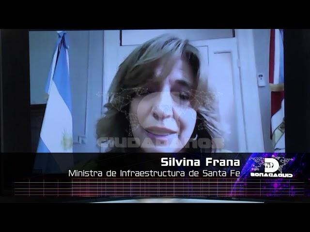 (Adelanto) Silvina Frana, ministra de Infraestructura de Santa Fe - Ciudadanos 23 10 2020
