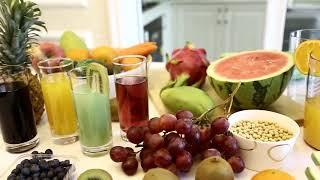 Máy ép chậm trái cây rau củ và làm nước đậu nành các loại hạt