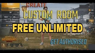 HOW TO HACK PUBG MOBILE  CUSTOM ROOM PASS UNLIMITED NO ROOT