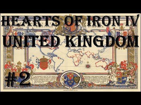 Hearts Of Iron IV - Man The Guns: United Kingdom #2