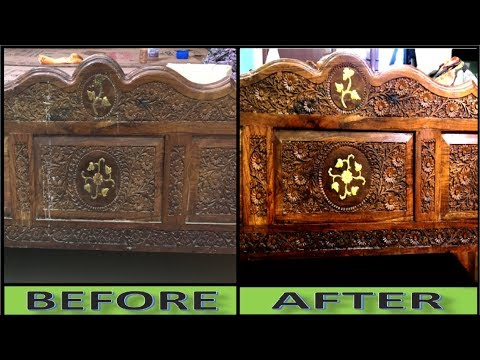Without Polish, How To Polish Wood Furniture at Home || Natural Method
