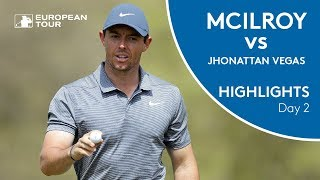 Rory McIlroy vs Jhonattan Vegas | Day 2 | 2018 WGC - Dell Technologies Match Play