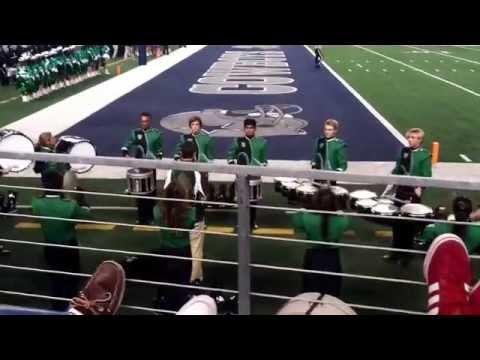 AHS Colt Drumline at the COWBOYS STADIUM(Behind The Scenes)
