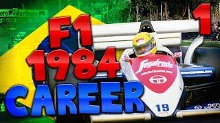 rFactor: Ayrton Senna Career - 1984 Season - #1 - Brazil