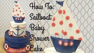Ahoy!  Nautical Cake | Tutorial