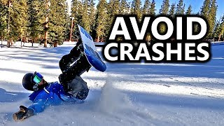 How To Avoid Snowboard Crashes in the Park