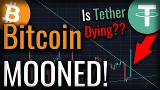 Bitcoin Moons As Tether Shows Signs Of Collapse!