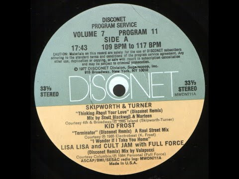 Thinking About Your Love (Disconet) - Skipworth & Turner